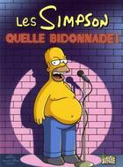 Couverture du livre « Les Simpson t.3 ; quelle bidonnade! » de Matt Groening aux éditions Jungle