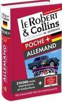 Couverture du livre « Dictionnaire ; poche + allemand » de Collectif aux éditions Le Robert