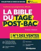 Couverture du livre « La bible du tage post-bac® » de Franck Attelan aux éditions Studyrama