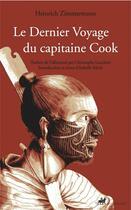 Couverture du livre « Le dernier voyage du capitaine Cook » de Zimmermann/Merle aux éditions Anacharsis