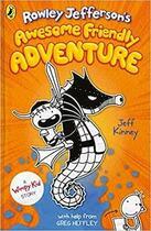 Couverture du livre « ROWLEY JEFFERSON''S AWESOME FRIENDLY ADVENTURE » de Jeff Kinney aux éditions Penguin