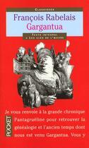 Couverture du livre « Gargantua » de Francois Rabelais aux éditions Pocket