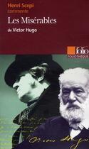 Couverture du livre « Les Misérables, de Victor Hugo » de Henri Scepi aux éditions Gallimard