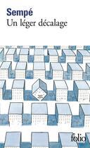 Couverture du livre « Un léger décalage » de Sempe aux éditions Gallimard