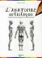 Couverture du livre « L'anatomie artistique » de Giovanni Civardi aux éditions De Vecchi