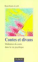 Couverture du livre « Contes Et Divans » de Jacques Hochman et Jean Hochman et Rene Kaes aux éditions Dunod