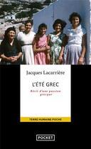 Couverture du livre « L'été grec » de Jacques Lacarriere aux éditions Pocket