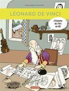 Couverture du livre « Léonard de Vinci » de Bruno Heitz et Marion Augustin aux éditions Casterman