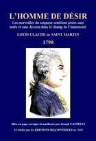 Couverture du livre « L'homme de désir » de Louis-Claude De Saint-Martin aux éditions Editions Maconniques