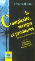 Couverture du livre « Complexite, vertiges et promes » de Reda Benkirane aux éditions Le Pommier