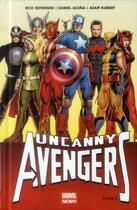Couverture du livre « Uncanny Avengers T.2 » de Adam Kubert et Rick Remender et Daniel Acuna aux éditions Panini