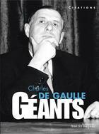 Couverture du livre « Charles de Gaulle ; citations » de Eric Branca aux éditions Editions Du Palais