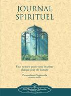 Couverture du livre « Journal spirituel » de Collectif et Paramahansa Yogananda aux éditions Srf