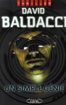Couverture du livre « Un simple génie » de David Baldacci aux éditions Michel Lafon