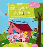 Couverture du livre « Les 3 petits cochons » de Grossetete et Morize aux éditions Fleurus