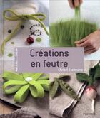 Couverture du livre « Créations en feutre » de Christl Exelmans aux éditions Mango