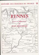 Couverture du livre « Rennes » de Jean Delumeau aux éditions Beauchesne