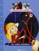 Couverture du livre « La riche héritière » de Christelle Chatel aux éditions Mango