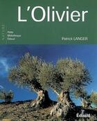 Couverture du livre « L'olivier » de Patrick Langer aux éditions Edisud