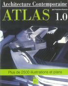 Couverture du livre « Architecture atlas 1.0 » de Asensio. Franci aux éditions Vilo