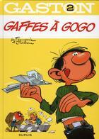 Couverture du livre « Gaston T.2 ; gaffes à gogo » de Jidehem et Andre Franquin aux éditions Dupuis