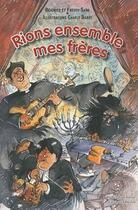 Couverture du livre « Rions ensemble mes frères » de Sarg Beatrice Freddy aux éditions Le Verger