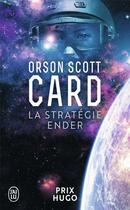 Couverture du livre « Le cycle d'Ender T.1 ; la stratégie Ender » de Orson Scott Card aux éditions J'ai Lu
