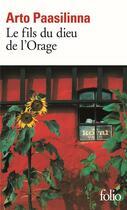 Couverture du livre « Le fils du dieu de l'orage » de Arto Paasilinna aux éditions Gallimard