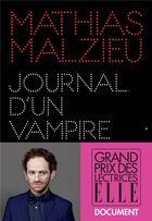 Couverture du livre « Journal d'un vampire en pyjama » de Mathias Malzieu aux éditions Albin Michel