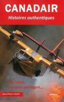 Couverture du livre « Canadair » de Jean-Pierre Otelli aux éditions Jpo