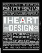 Couverture du livre « I heart design » de Steven Heller aux éditions Rockport