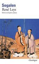 Couverture du livre « René Leys » de Victor Segalen aux éditions Folio