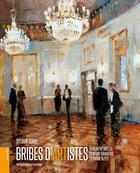 Couverture du livre « Bribes d'artistes ; rencontre avec la peinture figurative en Rhône-Alpes » de Sylvain Borde aux éditions Le Livre D'art