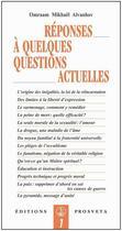 Couverture du livre « Réponses à quelques questions actuelles » de Omraam Mikhael Aivanhov aux éditions Prosveta