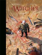Couverture du livre « The Witcher ; l'univers du sorceleur ; the witcher illustré ; le moindre mal » de Andrzej Sapkowski et Pinson aux éditions Bragelonne