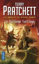 Couverture du livre « Les annales du Disque-monde T.2 ; le huitième sortilège » de Terry Pratchett aux éditions Pocket