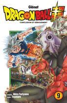 Couverture du livre « Dragon Ball Super T.9 ; conclusion et dénouement » de Akira Toriyama et Toyotaro aux éditions Glenat