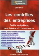 Couverture du livre « Les contrôles en entreprises » de Jean Sliwa aux éditions Puits Fleuri