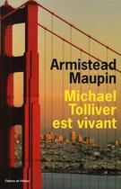 Couverture du livre « Michael Tolliver est vivant » de Armistead Maupin aux éditions Editions De L'olivier