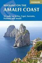 Couverture du livre « Walking on the amalfi coast » de Gillian Price aux éditions Cicerone Press