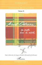 Couverture du livre « Aimé Césaire, un poète dans le siècle » de Jacques Girault aux éditions L'harmattan
