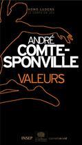 Couverture du livre « Valeurs » de Andre Comte-Sponville aux éditions Carnets Nord