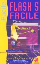 Couverture du livre « Flash 5 Facile » de David Thomisse aux éditions Marabout