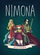 Couverture du livre « Nimona » de Noelle Stevenson aux éditions Dargaud