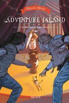 Couverture du livre « Adventure island ; le mystère du rubis maudit » de Yann Tisseron et Helen Moss aux éditions Fleurus