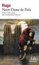 Couverture du livre « Notre-Dame de Paris » de Victor Hugo aux éditions Gallimard