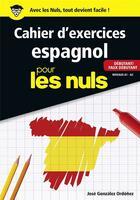 Couverture du livre « Cahier d'espagnol ; débutant ; niveau A1 » de Jose Gonzalez-Ordonez aux éditions First