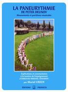 Couverture du livre « La paneurythmie de Peter Deunov ; mouvements et partitions musicales » de Muriel Urech aux éditions Prosveta