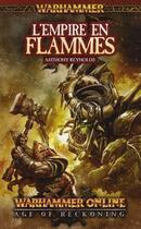 Couverture du livre « L'empire en flammes » de Anthony Reynolds aux éditions Bibliotheque Interdite