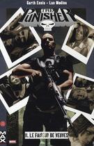 Couverture du livre « Punisher T.11 ; le faiseur de veuves » de Garth Ennis et Lan Medina aux éditions Panini